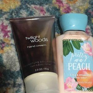 Other - Bath & Body works mini lotion duo plus bonus